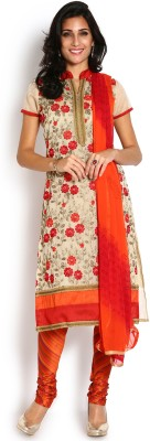 Soch Chanderi Embroidered Salwar Suit Dupatta Material
