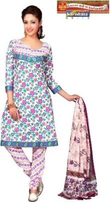 Karishma Suits Cotton Floral Print Salwar Suit Material