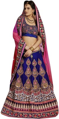 Lakmeart Embriodered Fashion Pure Georgette Sari