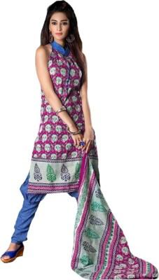 Party Wear Dresses Cotton Printed Salwar Suit Dupatta Material