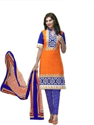 Shop Well Soon Cotton Printed Salwar Suit Dupatta Material