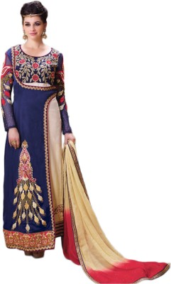 Belletouch Silk Printed Salwar Suit Dupatta Material