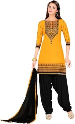 Vistara Lifestyle Cotton Embroidered Kurta & Patiyala Material