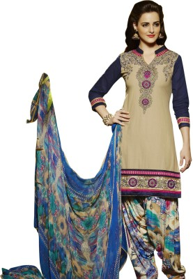 The Four Hundred Cotton Embroidered Salwar Suit Dupatta Material