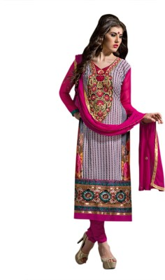 Concepts Georgette Embroidered Salwar Suit Dupatta Material