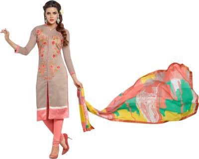 Jhumri Chanderi Embroidered Salwar Suit Dupatta Material