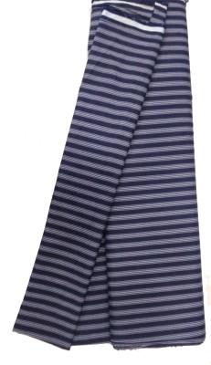 BFM Cotton Polyester Blend Striped Shirt Fabric