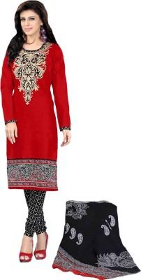 Parisha Cotton Floral Print Salwar Suit Dupatta Material