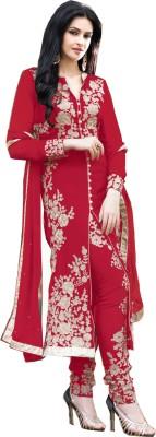 Salwars Georgette Embroidered Salwar Suit Dupatta Material