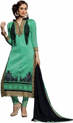 Bunny Sarees Georgette Embroidered Dress/Top Material