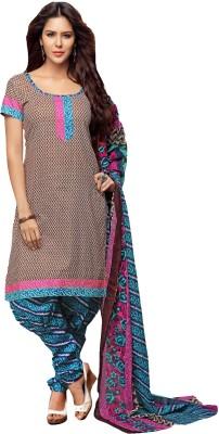 Prachi Silk Mills Cotton Printed Dress/Top Material
