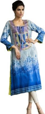 Amalki Cotton Embroidered Kurti Fabric