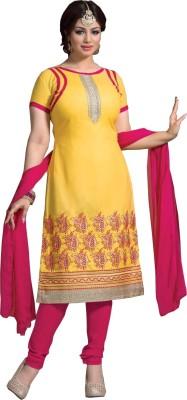 Jayanti Sarees Cotton Embroidered Dress/Top Material