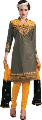 SANIKAFABRICS Cotton Self Design Salwar Suit Dupatta Material