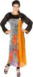Aanchal Georgette Printed Kurti Fabric (...