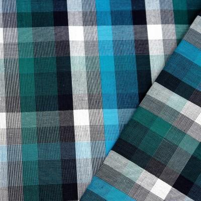 Wel-Come Cotton Mart Cotton Checkered Shirt Fabric