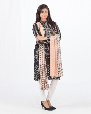 fashiongirls Cotton Printed Salwar Suit Dupatta Material