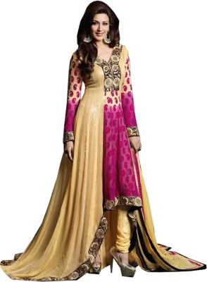 Beauvilla vaiibavam Georgette Printed Dress/Top Material