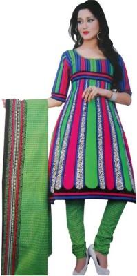 Akhi Cotton Self Design Salwar Suit Dupatta Material