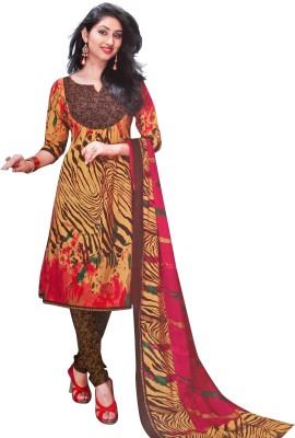 RiaFashion Cotton Printed Salwar Suit Dupatta Material