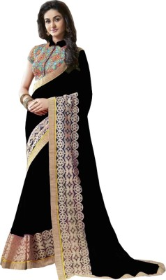 StyleOn Fashion Embriodered Bollywood Georgette Sari