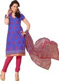 Fashiondeal Chanderi Embroidered Salwar ...