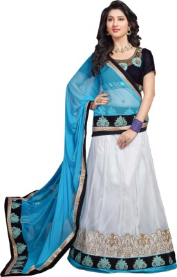 Styles Clothing Velvet Embroidered Lehenga Choli Material