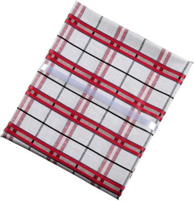 Vicbono Cotton Polyester Blend Checkered Shirt Fabric