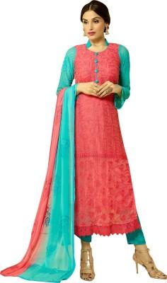 Awesome Chiffon Self Design Salwar Suit Dupatta Material