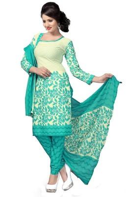 PMD FASHION Cotton Printed Salwar Suit Dupatta Material