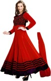 Redqueen Fashion Georgette Embroidered S...