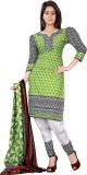 Silkbazar Cotton Printed Salwar Suit Dup...