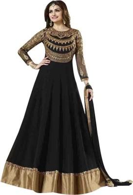 Varni Georgette Embroidered Salwar Suit Dupatta Material