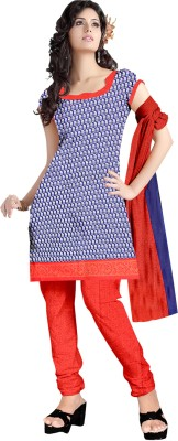Angel Silk Group Cotton Printed Salwar Suit Dupatta Material