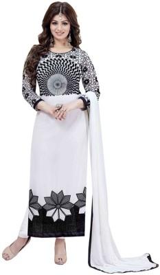 Hardik Georgette Embroidered Salwar Suit Dupatta Material