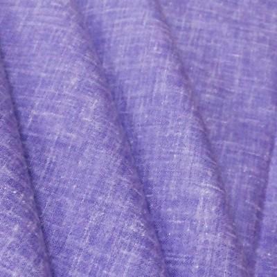 Fashion Foreplus Cotton Linen Blend Solid Shirt Fabric
