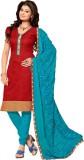 Saara Cotton Silk Blend Self Design Salw...