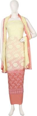 Najma Chiffon Embroidered Salwar Suit Dupatta Material