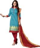 Abhinna Chanderi Embroidered Salwar Suit...