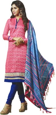 CAVALLI GANG Silk Solid Salwar Suit Material