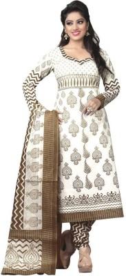 Fabeva Cotton Printed Salwar Suit Dupatta Material