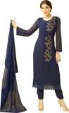 Whatshop Chiffon Embroidered Dress/Top M...