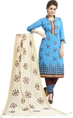 Shree Vardhman Cotton Printed Salwar Suit Dupatta Material
