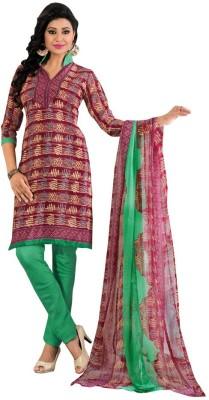 Price Bet Crepe Printed Salwar Suit Dupatta Material