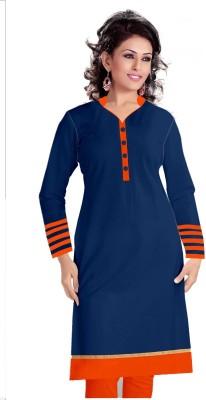Nandani Fashion Cotton Self Design Kurti Fabric
