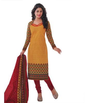 SUSETRENDZ Cotton Printed Salwar Suit Dupatta Material