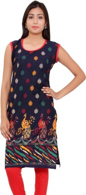 Kurti Studio Cotton Floral Print Dress/Top Material, Kurti Fabric, Kurti Fabric(Un-stitched)