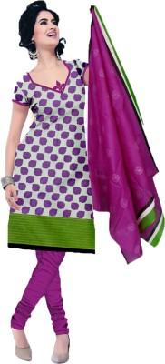 Araa Cotton Printed Salwar Suit Dupatta Material