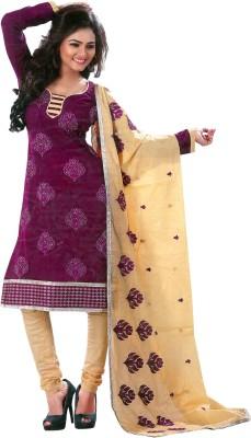 Poonam Cotton Embroidered Salwar Suit Dupatta Material