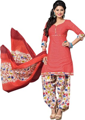 Mankarsh Cotton Printed Salwar Suit Dupatta Material